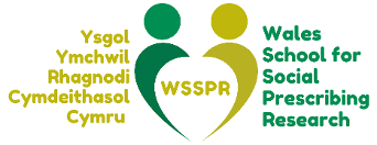 Wales School for Social Prescribing Research logo